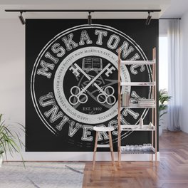 Miskatonic University Emblem (Dark version) Wall Mural