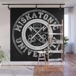 Miskatonic University Emblem (Dark version) Wall Mural