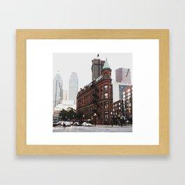 The Gooderham Building Framed Art Print
