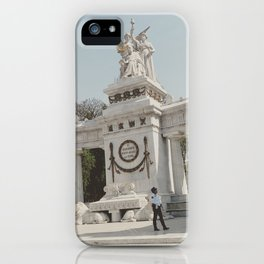 Hemiciclo a Juarez iPhone Case