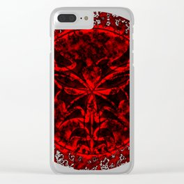 Dark Arcane Dragon Clear iPhone Case