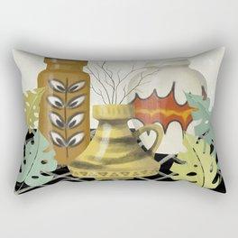 Mid Century Modern Love Rectangular Pillow