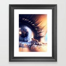 Show me love Framed Art Print