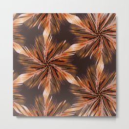 Palm Leaves #buyart #society6 #tropical Metal Print
