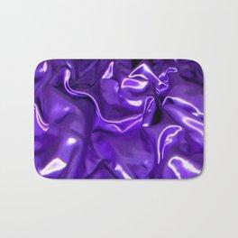 Ultra Violet Satin Material Bath Mat