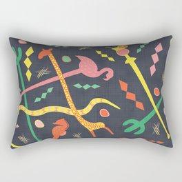 MCM Swizzle a Go Go Rectangular Pillow