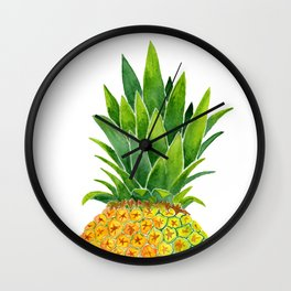 Piña Wall Clock