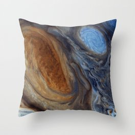 liver-spotted king   space #02 Throw Pillow