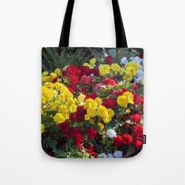 Begonias in Flower Tote Bag