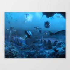 Submarine Canvas Print