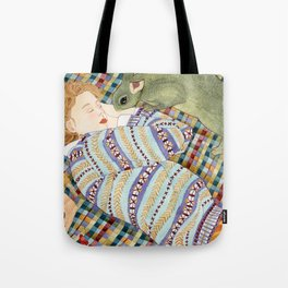 Picnic With Bunny Tote Bag
