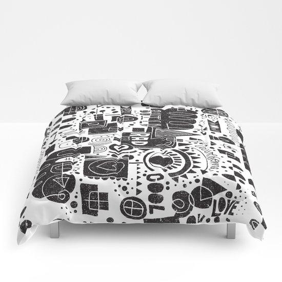 BUILD A CITY Comforters