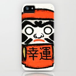 Japanese Daruma iPhone Case