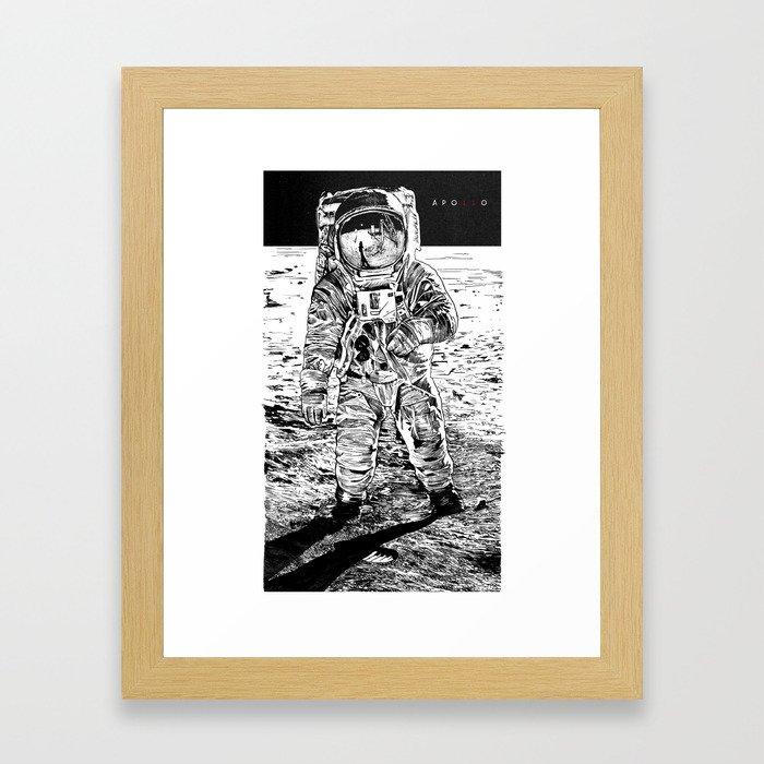 APO11O Framed Art Print