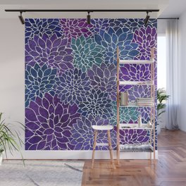 Floral Abstract 22 Wall Mural