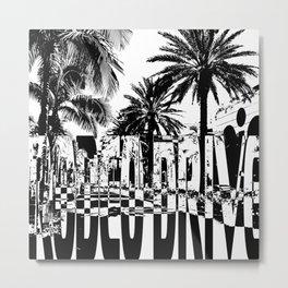 Rodeo Drive Metal Print