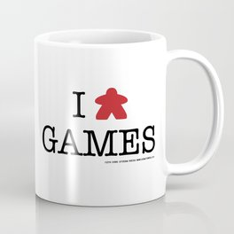 I Meeple Games Coffee Mug