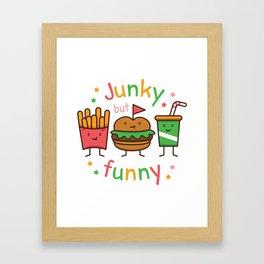 Junky but Funny Framed Art Print