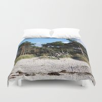 german Duvet Covers featuring German coast by anru