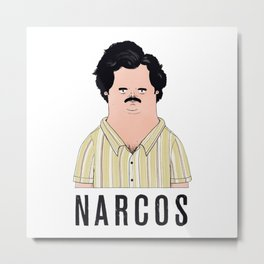 Narcos Metal Print