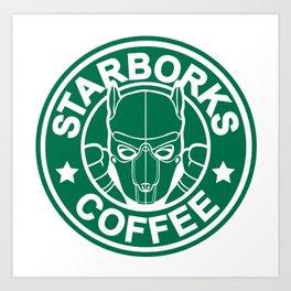 Starborks Art Print