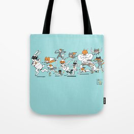 There are Super Heroes Everywhere Tote Bag