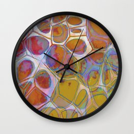 Modern Abstract Painting 14 Wall Clock