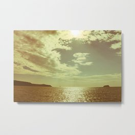 Santorini, Greece 6 Metal Print