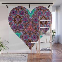 XL Valentine's Heart 2 Wall Mural