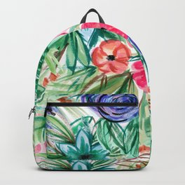 Watercolor Floral Bouquet No. 2 Backpack