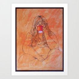 La Tasse Art Print