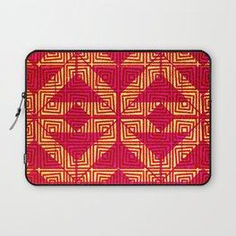 Aztec Hot Pink and Gold Laptop Sleeve