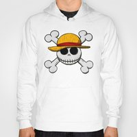 luffy Hoodies featuring Jack Luffy by le.duc