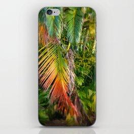 Palm Glow 2 iPhone Skin