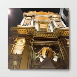 The Grand Church of Vieux Nice Metal Print