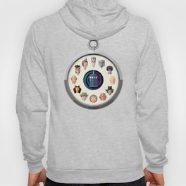Dr. Who Fob Hoody