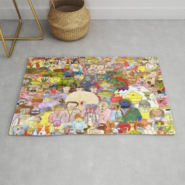 The Fuzzy Crowd Rug