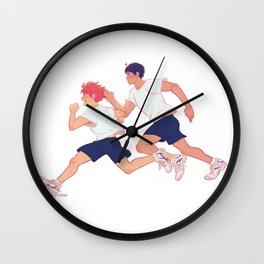 run boys run Wall Clock