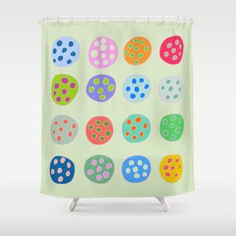 Funky Fruit Shower Curtain