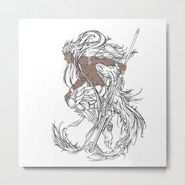 Muu Alexius Djinn Equip Barbatos 2 Metal Print