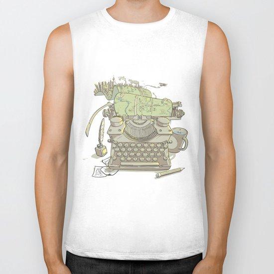 A Certain Type of City Biker Tank