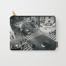 Paris Streets Carry-All Pouch