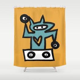 DJ CAT Shower Curtain