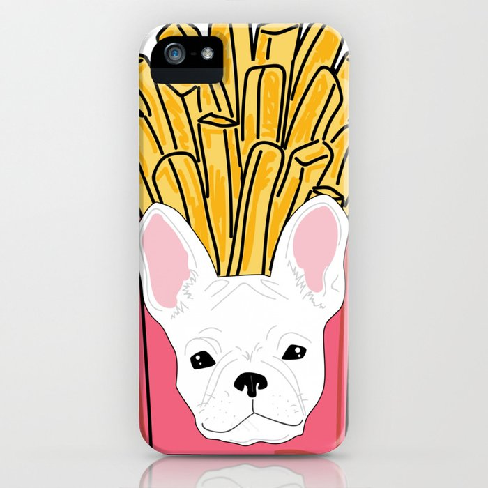 Frenchie Fries iPhone Case