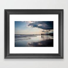 Storm Ahead Framed Art Print
