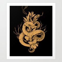 Sage Cleansing Rituals Art Print