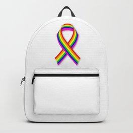 LGBT Awareness Ribbon Backpack