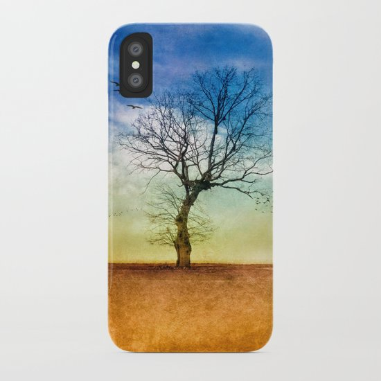 ATMOSPHERIC TREE | Autumn Light iPhone Case