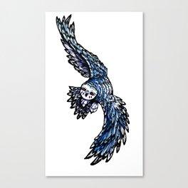 Nightvision: Nakai Canvas Print