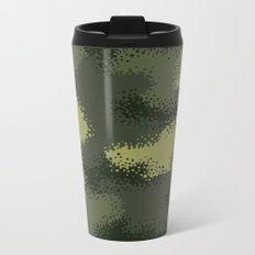 MPat Camouflage Pattern Metal Travel Mug